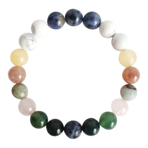 Courage & Confidence Mix  Gemstone Mix Bracelet