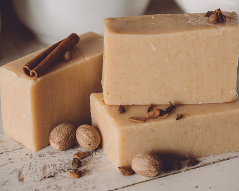 Country Harvest Organic Handmade Soap - Everything Fall in this aroma!