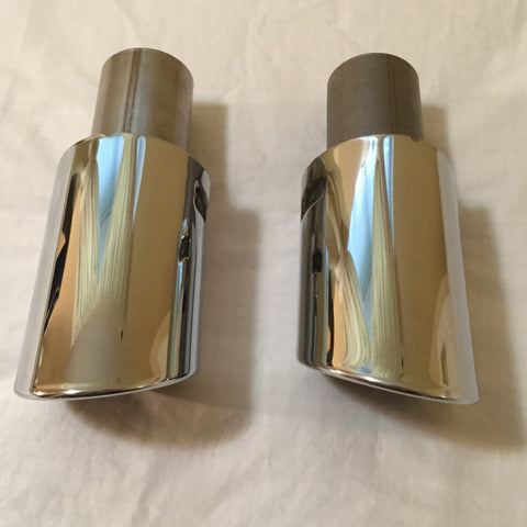B8 Audi A4 OEM Chrome Exhaust Tips