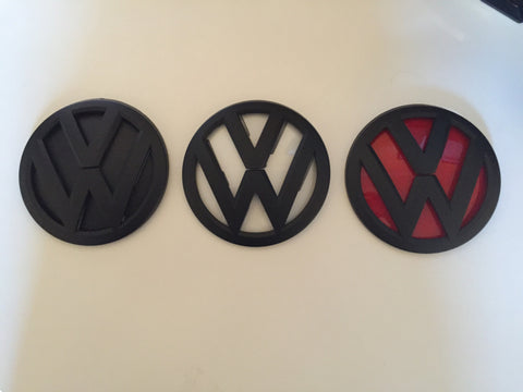 VW MK7 Painted VW Grill Emblems