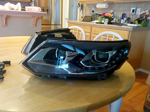 2012.5 to 2017 VW Tiguan OEM Style HID Headlights