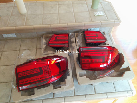 2012.5 to 2017 VW Tiguan OEM Style LED Tail Lights
