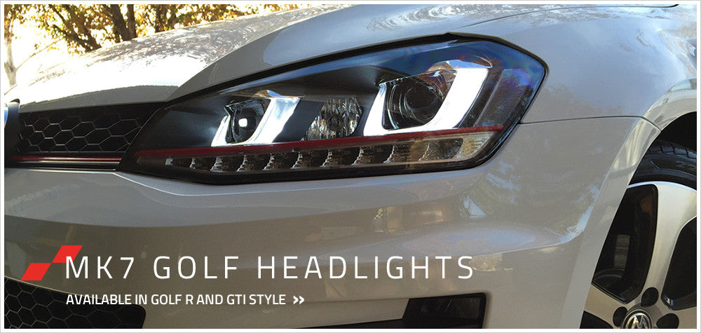 Golf 7 headlights