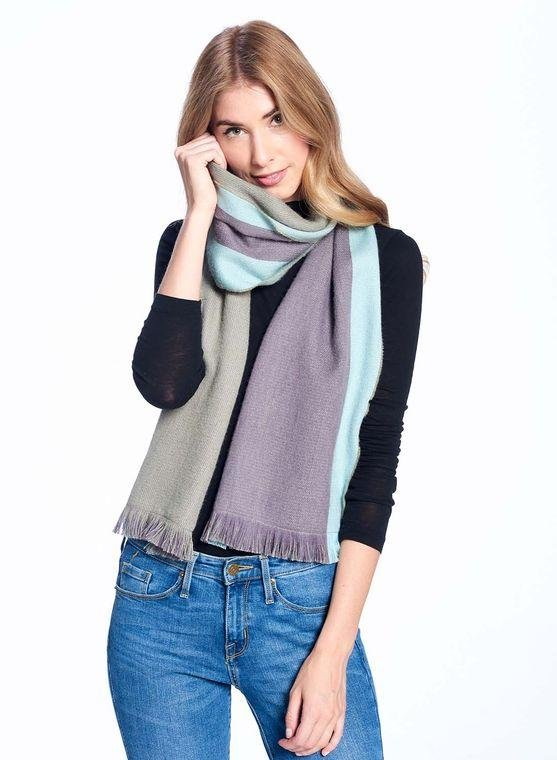 Alpaca Reversible Scarf - Ether - MindfulGoods