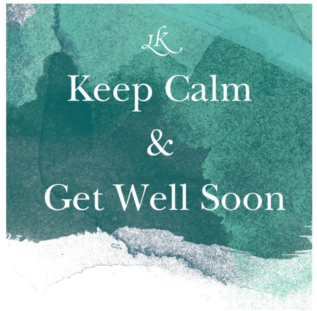 Greeting Cards-Keep Calm and Get Well Soon - MindfulGoods