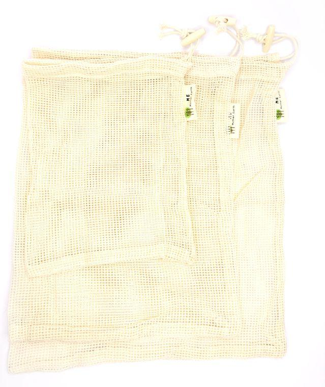 Me Mother Earth Mesh 100% Cotton Reusable Produce Bag - MindfulGoods