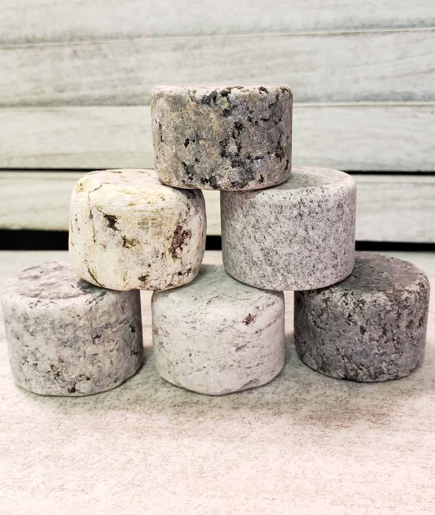 Reclaimed Granite Whiskey Chilling rocks - MindfulGoods