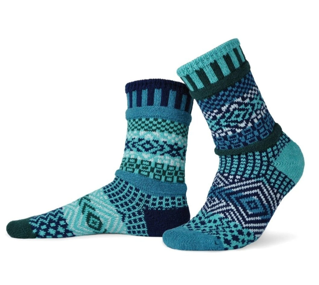 Solmate Socks - Evergreen- made out of recycled cotton - MindfulGoods
