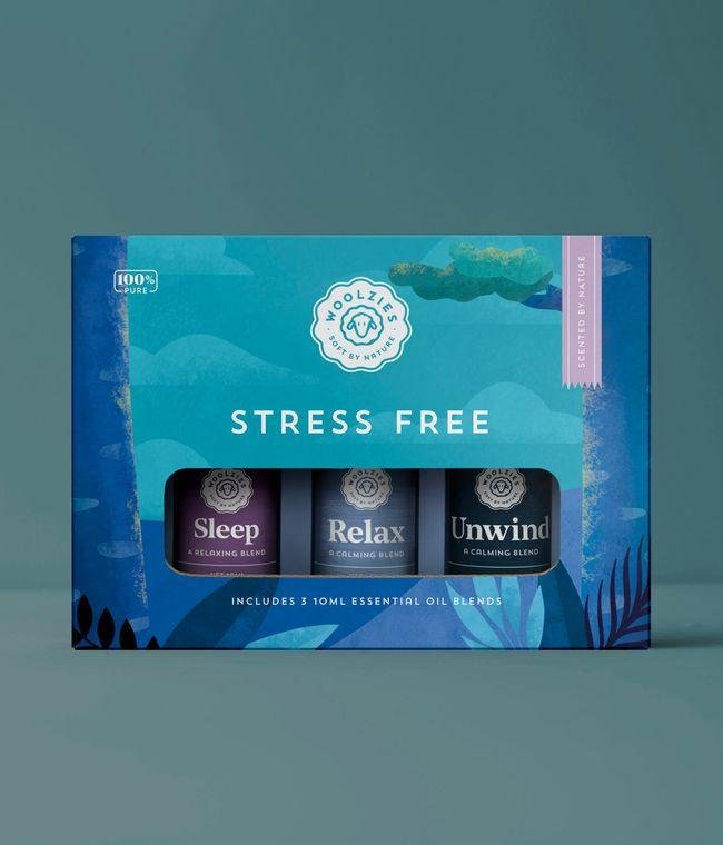Stress Relief Essential Oil Collection - MindfulGoods