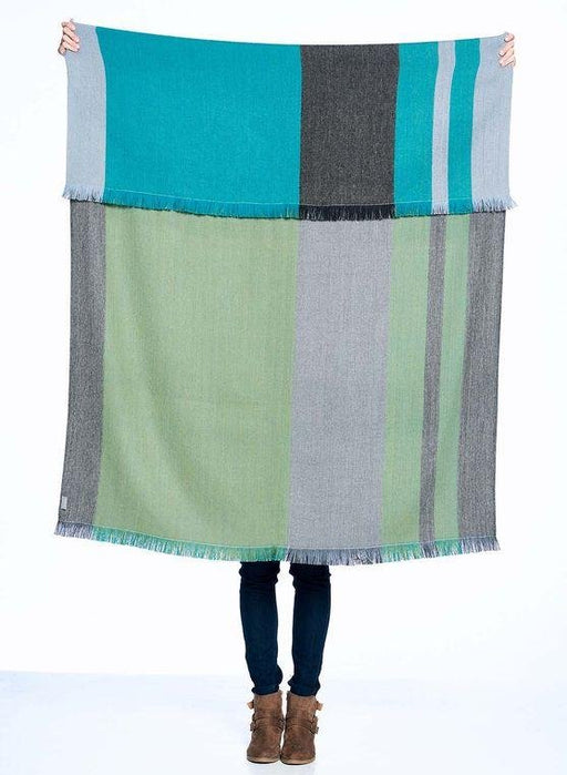 Weeping Willow Reversible Alpaca Throw - MindfulGoods