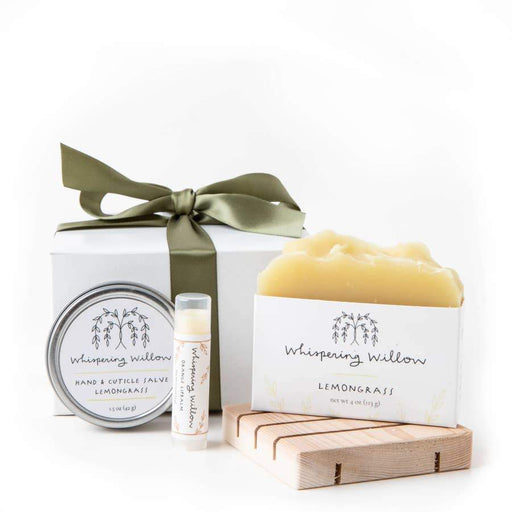 Whispering Willow Lemongrass Gift Box - MindfulGoods