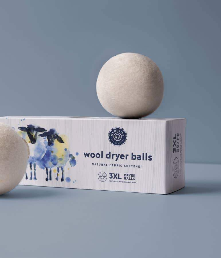 Woolzies All-Natural Dryer Balls (3 or 6 Pack)