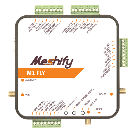 M1 Fly Mesh-Networked Router or End Node