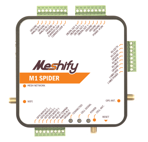 M1 Spider - Cellular Plus Mesh-Networking Gateway