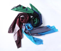 skinny scarf women's fashion elements