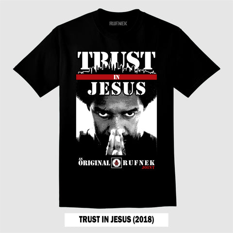 TRUST IN JESUS 2018 (BLACK T-Shirt)