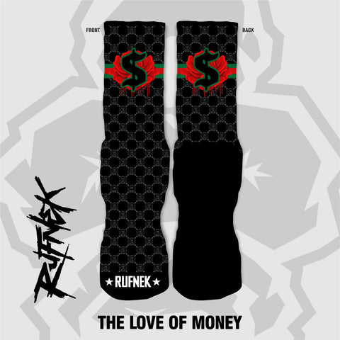 The love of money (socks)