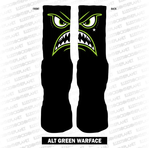 ALT Green Warface (SOCKS)