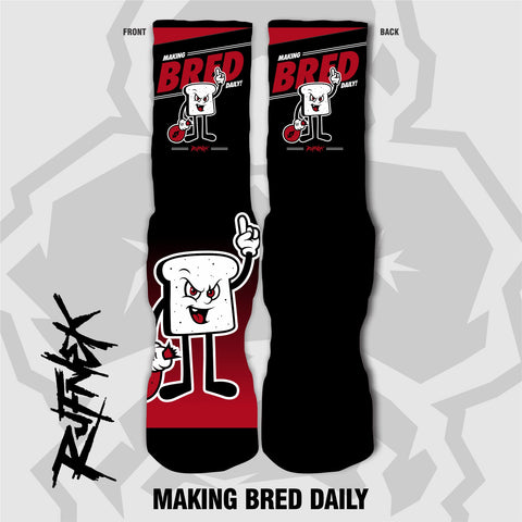 MAKING BRED DAILY (SOCKS)
