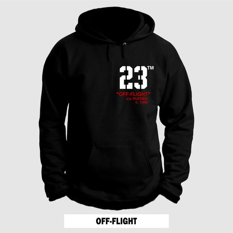 BLACK CEMENT OFF-FLIGHT (Hoodie)