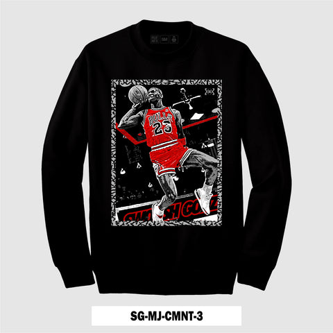 BLACK CEMENT SG-MJ-CMNT-3 (CREWNECK)