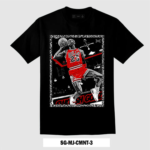 BLACK CEMENT SG-MJ-CMNT-3 (T-Shirt)