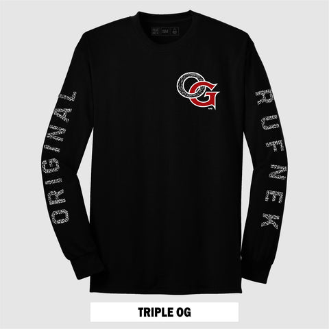 BLACK CEMENT TRIPLE OG (LONG SLEEVE)