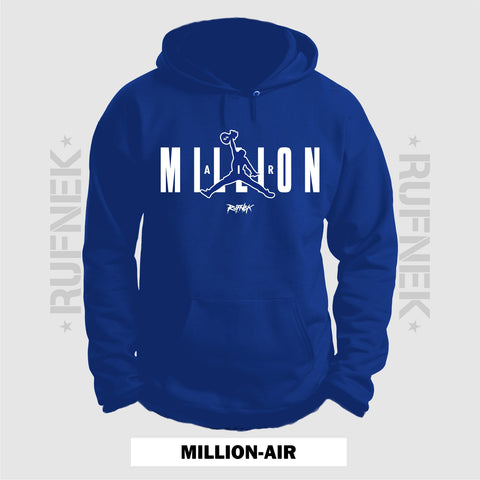 MILLION-AIR BLUE (BLUE HOODIE)