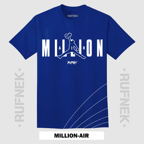 MILLION-AIR BLUE (BLUE SHIRT)