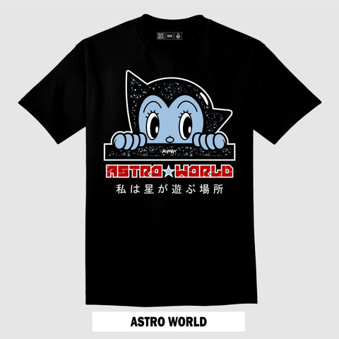 ASTRO WORLD (Black T-Shirt)