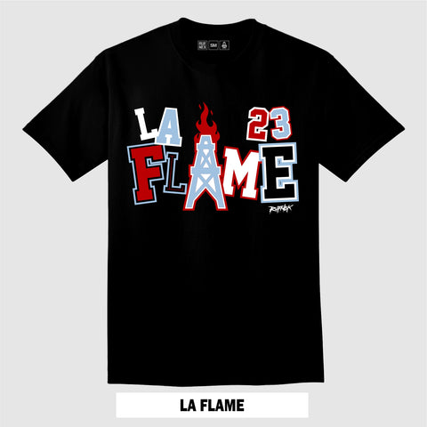 LA FLAME (Black T-Shirt)