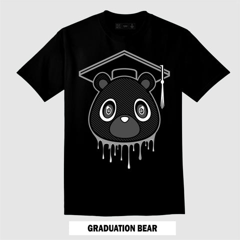 GRADUATION BEAR (Black T-Shirt)