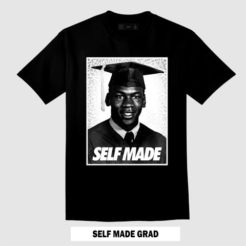 SELF MADE (Black T-Shirt)