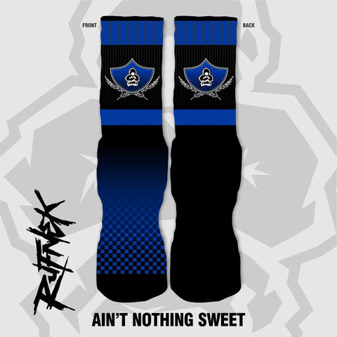 AINT NOTHING SWEET - COBALT (SOCKS)