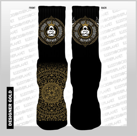 DESIGNER GOLD (SOCKS)