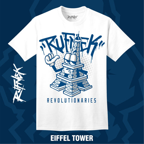 EIFFEL TOWER  (WHITE SHIRT)