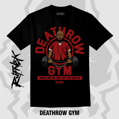 DEATHROW GYM (BLACK SHIRT)