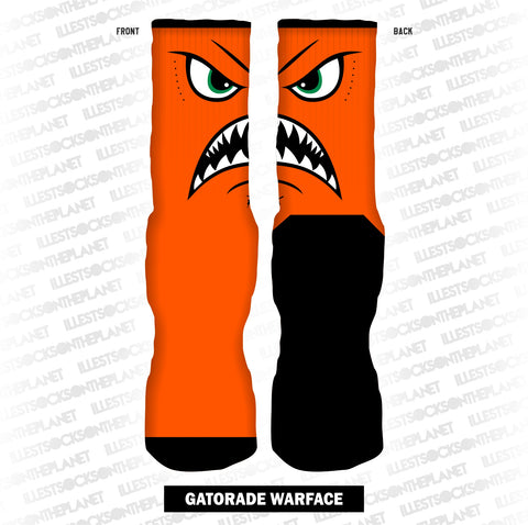 ORANGE WARFACE (SOCKS)