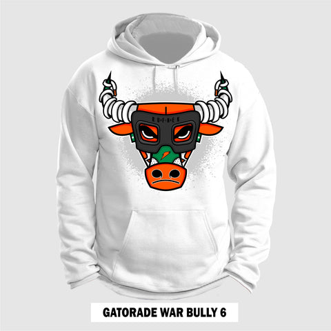 GATORADE ORANGE WAR BULLY 6.0 (White Hoodie)