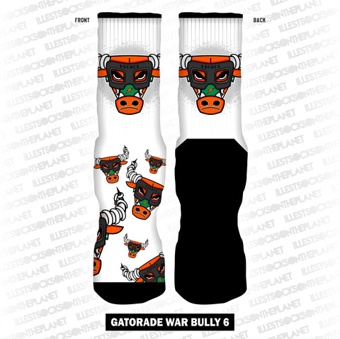 ORANGE GATORADE WAR BULLY 6.0 (SOCKS)