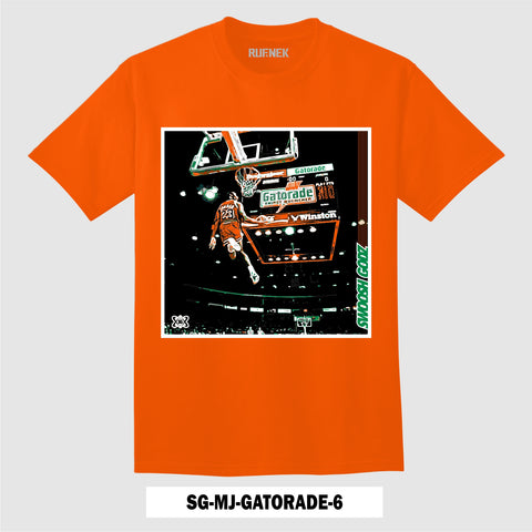 (ORANGE) SG-MJ-GATORADE-6 (T-Shirt)