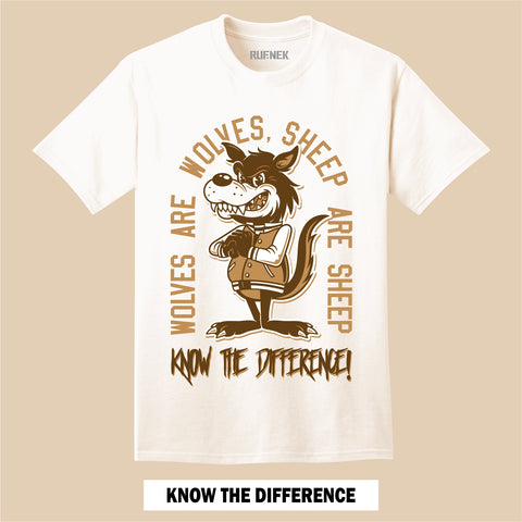 WHEAT Know the Difference (T-Shirt)
