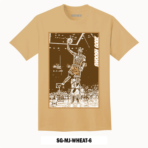SG-MJ-WHEAT-6 (T-Shirt)