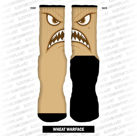 WHEAT WARFACE (SOCKS)