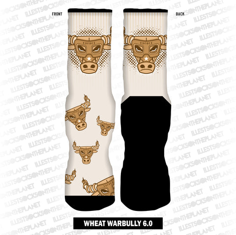 WHEAT WAR BULLY 6.0 (SOCKS)