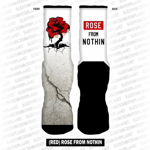 RED ROSE FROM NOTHIN (SOCKS)