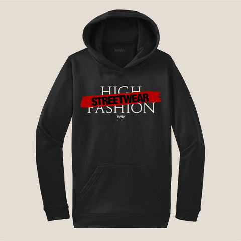 STREETWEAR OVER HIGH FASHION (HOODIE)
