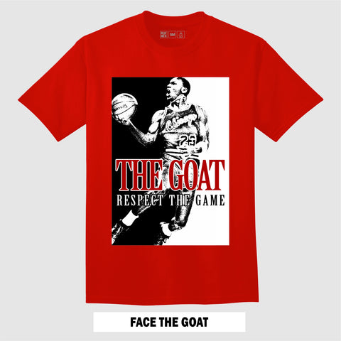 FACE the GOAT (Red T-Shirt)