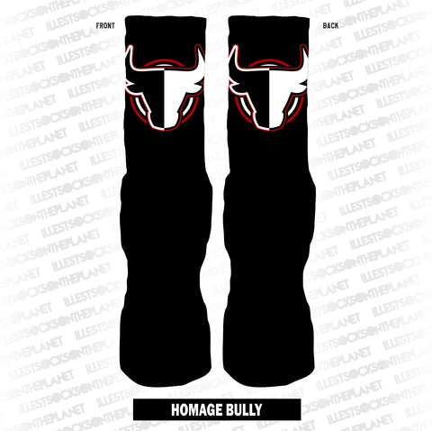 HOMAGE BULLY (BLACK SOCKS)