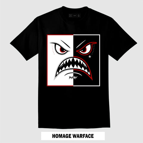 HOMAGE WARFACE (Black T-Shirt)